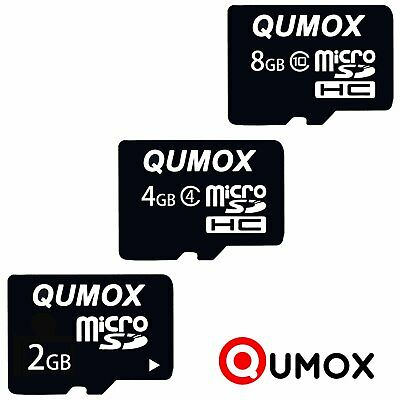 Qumox 2GB 4GB 8GB GB MicroSD Micro SD Flash Card SPEICHERKARTE Karte JUN
