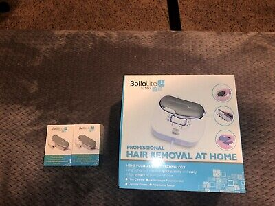 Bellalite by Silk'n Professional Hair Removal System with 5 Lamp Cartridges-NEW