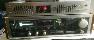 Realistic STA-2600 Stereo Receiver With Realistic 31-2020 Equalizer Vintage Used