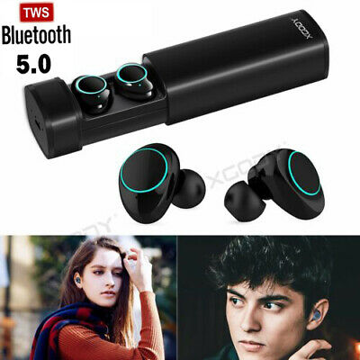 X9 TWS Bluetooth 5.0 Earphone Wireless Headphone Stereo Earbuds w/ Charging Base