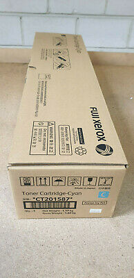 Genuine Xerox CT201587 Cyan Toner for DocuCentre  IV C5580 C6680 C7780