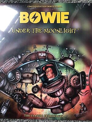 David Bowie - Under The Moonlight - Ltd Edt White Vinyl L.p. - New & Sealed