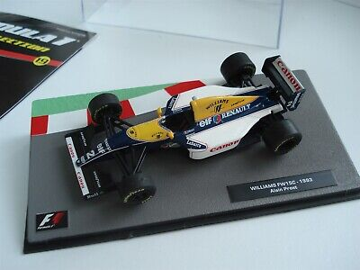 Williams Fw15C - Alain Prost - 1993 - F1 Collection - Includes Magazine - 1/43