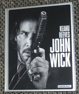 John Wick - Blu Ray MEDIABOOK (Out of Print) Keanu Reeves, Top
