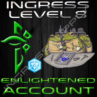 INGRESS LEVEL 10 Enlightened Or Res Bot Account Create New Portals