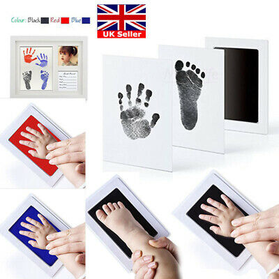 Inkless Wipe Baby Kit Hand-Foot Print Keepsake Newborn Footprint Handprint UK