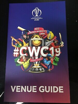 Icc Cricket World Cup England & Wales 2019- Venue Guide