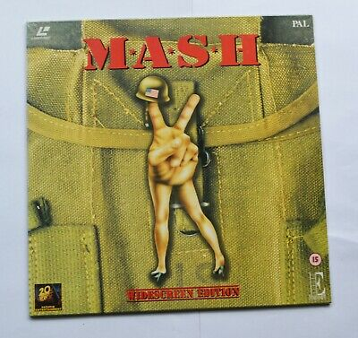M*A*S*H (1996) Widescreen PAL Laser Disc (new & sealed)