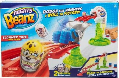 NEW Mighty Beanz Slammer Time Race Track from Mr Toys