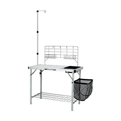 CAMP KITCHEN SINK Table Storage Deluxe Ozark Trail Red ...