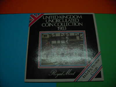 1983 Set Oficial Reino Unido (Royal Mint) , Coin Collection
