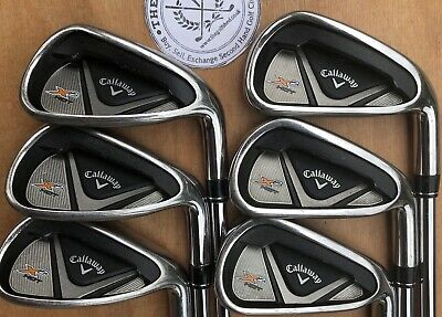 Callaway X2 Hot Irons 5 - Pw - Speedstep 85 Regular Flex Shafts