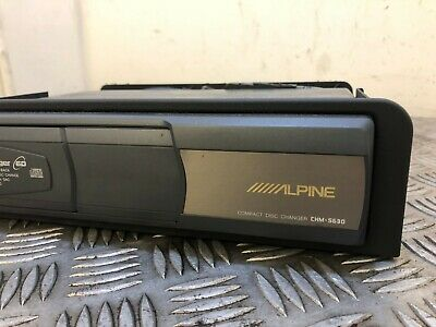 Range Rover L322 6 Disc Alpine Cd Multi Changer With Adaptor Chm-S630