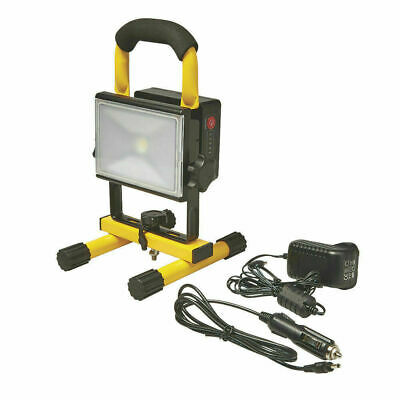 Quality Diall Rechargeable Site Portable Work Light 10W 12/24V