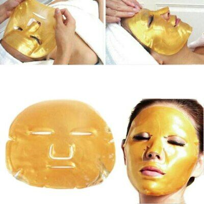 24K Premium Bio Collagen Revitale Gold Face Mask Nourishes Firms  Hydrates UK