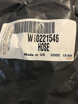 New! Whirlpool W10221546 Appliance Hose-Drain OEM