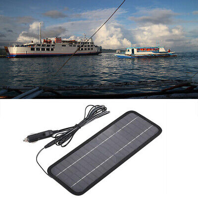 Replacement 12V Solar-Powered Battery Charger Auto Car Boat Solar Panel