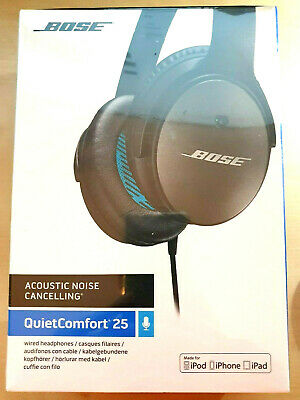 Bose QuietComfort 25 QC25 Acoustic Around-Ear Noise Cancelling Headphones. Apple