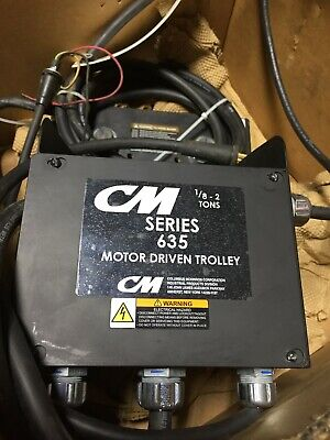 CM 635 Motor Driven Trolley, 2 Ton, 3 Phase, 30 FPM - New!