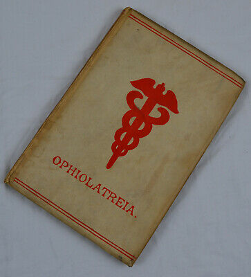 RARE 1889 HB Book Ophiolatreia Rites and Mysteries of Serpent Worship Occult