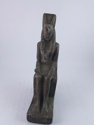 RARE ANTIQUE ANCIENT EGYPTIAN Statue Egypt God Anubis Stone 1500 Bc