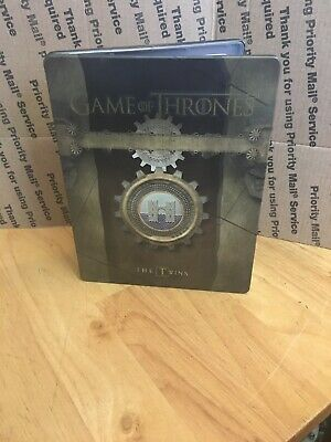 HBO Game of Thrones Complete Third Season 3 Gift Box BluRay Steelbook The Twins