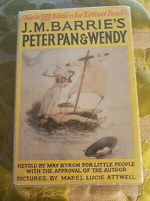 J M Barrie's Peter Pan & Wendy with Mabel Lucie Attwell Illustrations with DJ