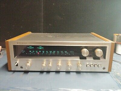 Kenwood Kr-6400 Stereo  Receiver Looks Good Sounds Great Satisfaction Guaranteed