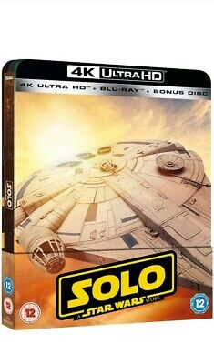 Solo A Star Wars Story Steelbook 4K UHD Blu Ray UK Edition New Sealed