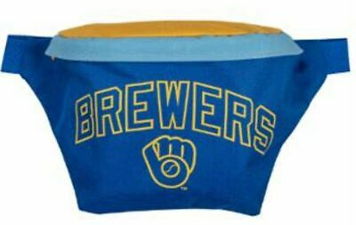 Milwaukee Brewers 2019 Blue & Yellow Fanny Pack Bag Giveaway June 23 New