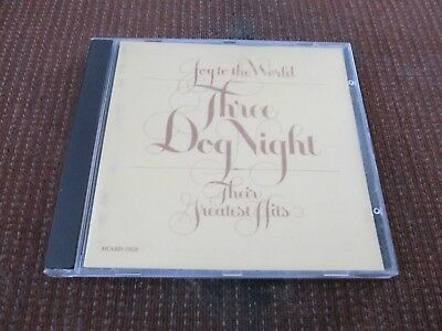 Joy to the World: Their Greatest Hits by Three Dog Night (CD,1974 MCA) VG