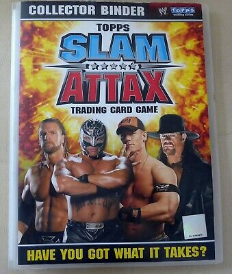 !!! LOT 153 cartes collection Topps Slam Attax Trading Card Game - 2008