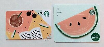 Starbucks Card 2019 Watermelon and Summer Reading