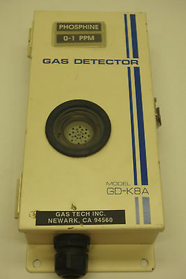 GAS TECH, INC. Toxic GAS Leak Detector, GD-K8A, Phosphine (PH3) GAS, 0-1 PPM