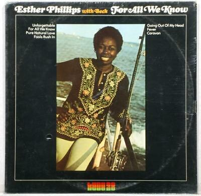 Sealed Lp: Esther Phillips: For All We Know