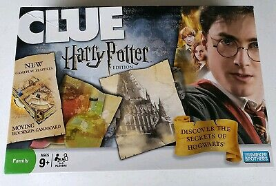 """CLUE Harry Potter Edition by Parker Brothers """"Discover Secrets of Hogwarts"""""""
