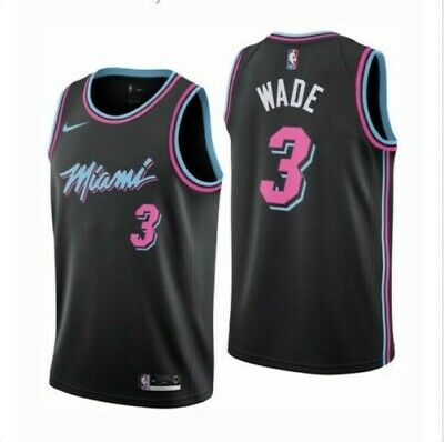 outlet store c3669 b9c5b NEW MIAMI HEAT Vice Dwayne Wade City Edition Authentic ...