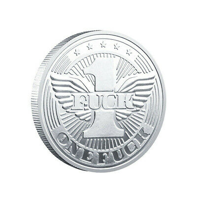 One F Silver Coin Angel Wings Commemorative Coin Collection Non-currency coin