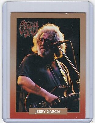 JERRY GARCIA of the Grateful Dead Brockum Rock Card from 1991, Legacy Series