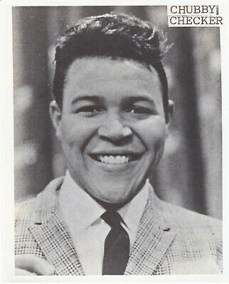 Chubby Checker Photo Vintage The Twist Let's Twist Again Rock N Roll Music