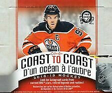 2018-19 OPC Coast to Coast Canadian Tire Base Cards Free Shipping on 2+ Cards