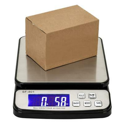DIGITAL SHIPPING SCALE POSTAL PARCEL SCALE 110 LBS CAPACITY 50 KG w/ AC ADAPTER