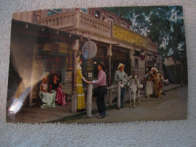 1950's Knotts Berry Farm Ghost Town General Store postcard characters original