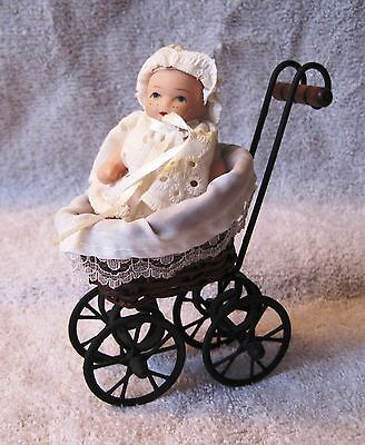 Beautiful - Belgian - Doll With Doll Carriage - Stroller - Great Gift Item!