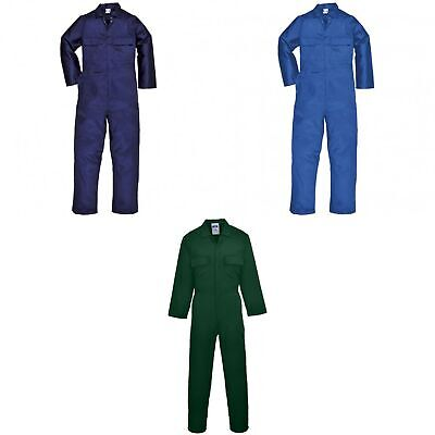 Portwest Mens Euro Work Polycotton Coverall (S999) / Workwear (RW1030)