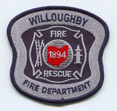 Willoughby Fire Rescue Department Patch Ohio OH v2