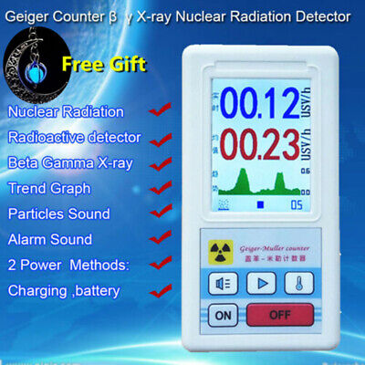 Geiger Counter Beta Gamma X-ray Nuclear Radiation tube Detector Dosimeter Tester