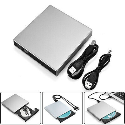 Externe USB Dvd-Rw Cd-Rw Graveur de DVD Lecteur pour Windows XP 2000 Win 7 8 10