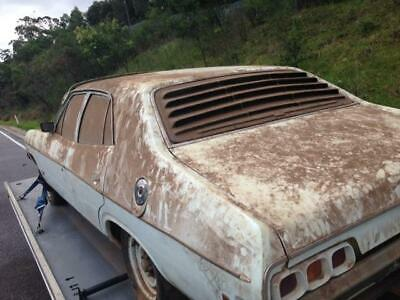 1973 Ford Falcon Xa Police Issue, Stored For 43 Years, Matching Numbers V8