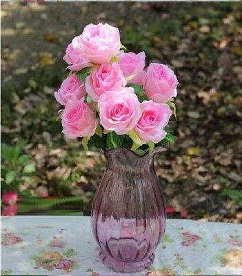 Real Artificial Rose DIY Decoration and Flower Arrangement Table Flower,Pink